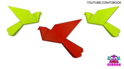 Simple Origami Dove - origami how to make an origami dove hd origami dove
