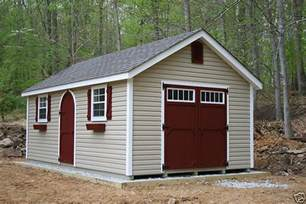 amish built 12x20 a frame vinyl storage shed with upgraded