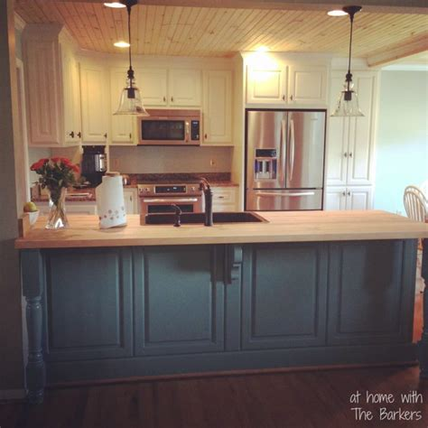 glazed kitchen cabinets at home with the barkers