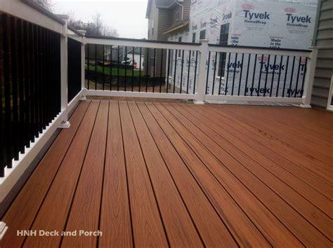 deck flooring gallery hnh deck  porch llc