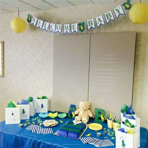 Polo Baby Shower by Baby Shower Ideas Polo Themed Baby Shower And