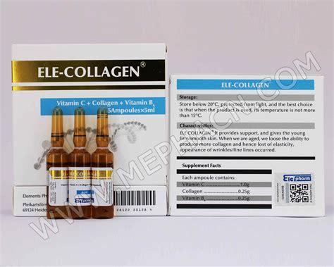 Injection Collagen ele collagen injection hebei mepha co ltd