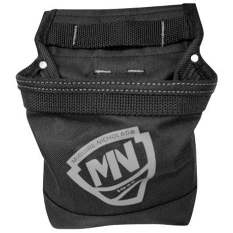 mcguire nicholas 1 pocket tool pouch 1dm 039p the home depot