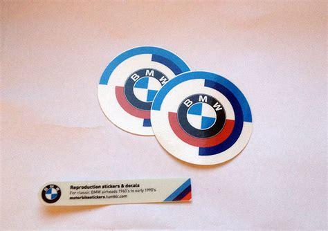 Bmw Heritage Sticker by Vintage Emblem Pair Heritage Stickers