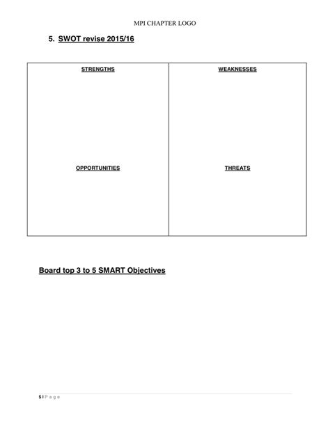 business plan template in word and pdf formats page 5 of 10