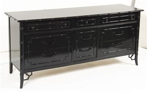 black faux bamboo dresser thomasville faux bamboo dresser omero home