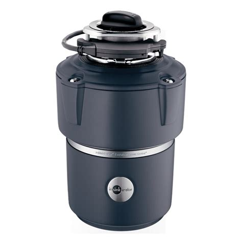 InSinkErator COVER CONTROL Evolution 3/4 HP Garbage Disposal with Sound Insulation   Lowe's Canada