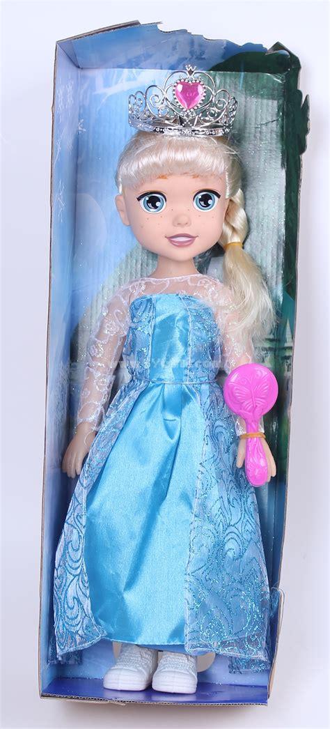 Set Gamis Frozen Elsa No 5 5 6thn frozen princess elsa baby dolls figures 47cm