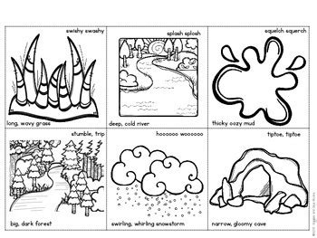 bear hunt coloring page going on a bear hunt a retelling activity by giggles and