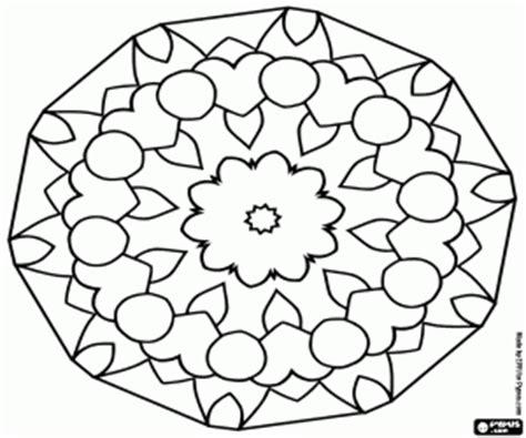 juegos de mandala para colorear, imprimir y pintar