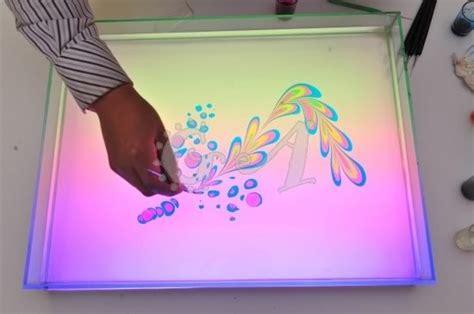 desain lukis bunga desain grafis melukis dalam air