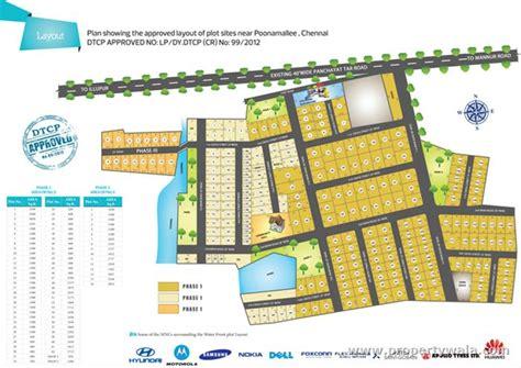 new land layout in chennai vip housing water front sriperumbudur chennai