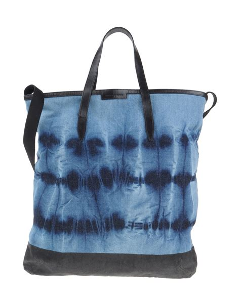 Guess Who The Dries Noten Purse by Lyst Dries Noten Shoulder Bag In Blue For