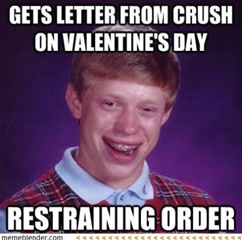 letter  crush  valentines day restraining