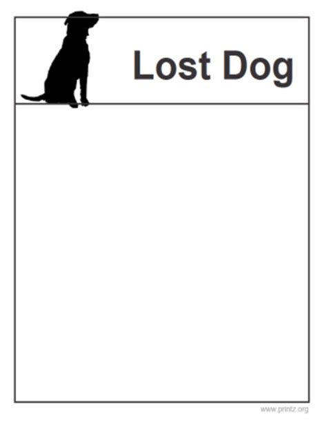 lost pet template lost sign template pictures to pin on