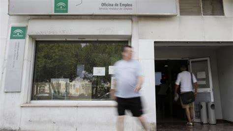 oficina servicio andaluz de empleo el paro baja un 6 5 en andaluc 237 a y un 7 8 en espa 241 a
