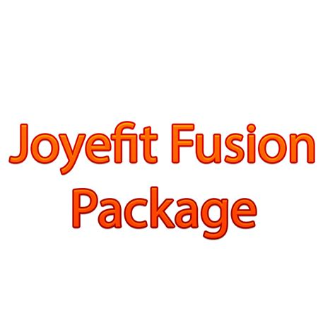 Fusion Package joyefit fusion package the joyefit institute