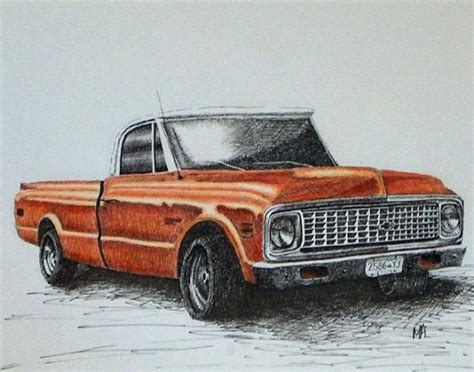 Chevy Truck Drawings by The Gallery For Gt Classic Chevy Truck Drawings