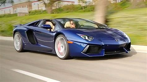 2016 lamborghini aventador roadster review and road test youtube