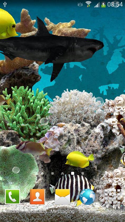 aquarium android  wallpaper amax software