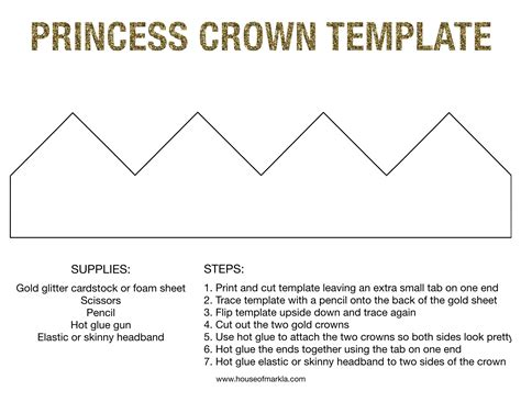 How To Make A Princess Crown Out Of Paper - how to make a princess tiara out of paper 28 images
