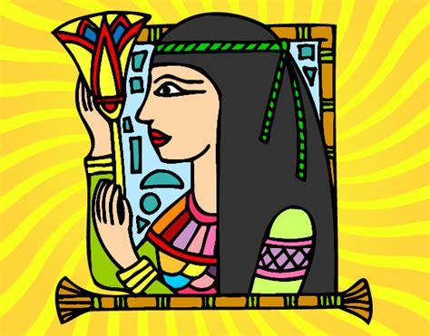 buscar imagenes egipcias dibujo de cleopatra pintado por saul1996 en dibujos net el