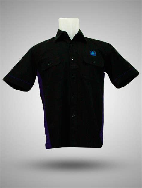 Kemeja Atlantic kemeja hitam ungu produsen kaos kemeja jaket tas promosi 08129821398