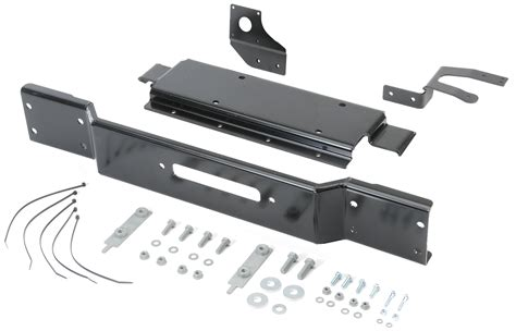 jeep rubicon winch bumper mopar 82214786ab winch mounting kit for 13 18 jeep