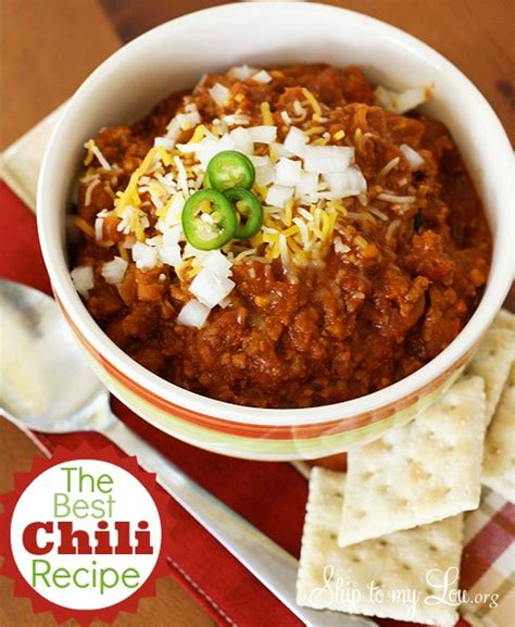 best chilli george s chili recipe for sure the best chili recipe