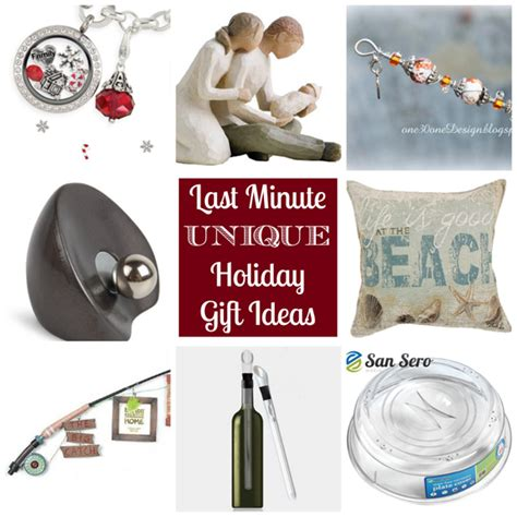 my favorite things last minute unique holiday gift ideas