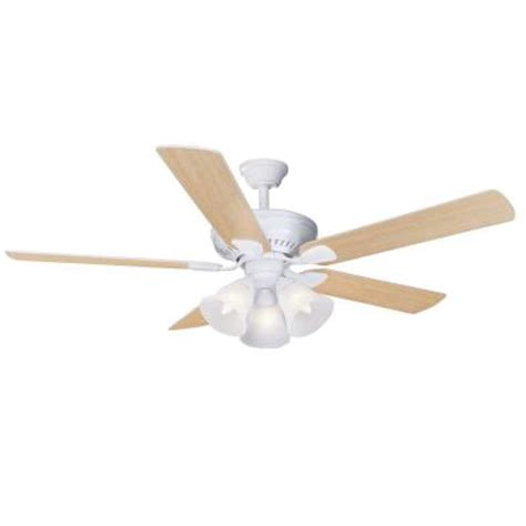 Discontinued Ceiling Fans by Hton Bay 52 In Cbell Matte White Ceiling Fan