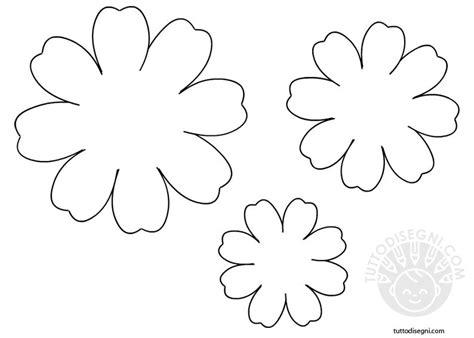 disegni fiori da ritagliare speciale moda donna primavera estate stencil fiori da