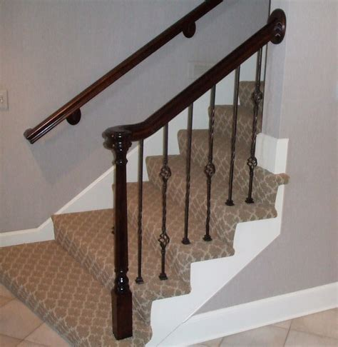 Wood Stair Spindles Replacement Staircase And Spindles Kc Wood