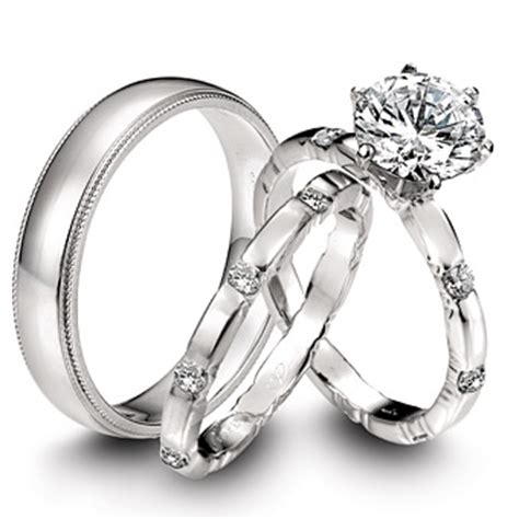 difference between engagment and wedding rings the