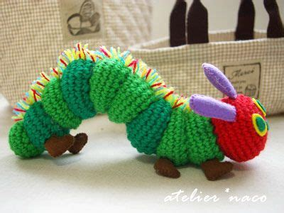 crochet pattern very hungry caterpillar curiouscrochet the very hungry caterpillar this is
