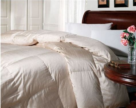 hotel collection goose down comforter hotel collection gusseted silk blend goose down comforter