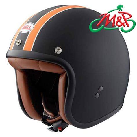Bell Rt bell rt replica matt black orange medium 58cm open retro classic helmet ebay