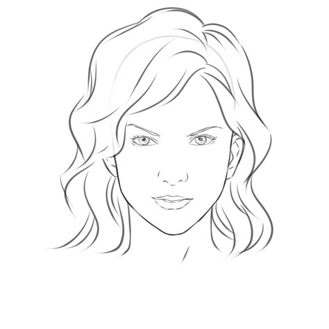 templates for drawing faces face drawing easy girl drawing face easy how to draw eyes
