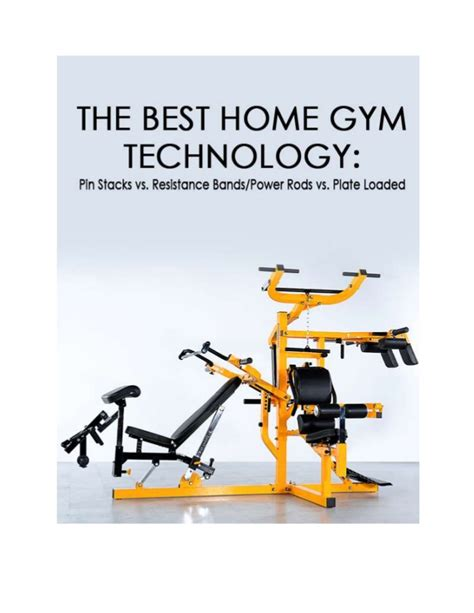 best home technology the best home gym technology pin stacks vs resistance