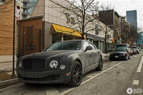 matte black bentley mulsanne bentley mulsanne 2009 11 march 2014 autogespot