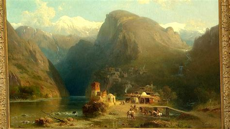 antikes italienisches volk landschaftsmalerei barock loopele