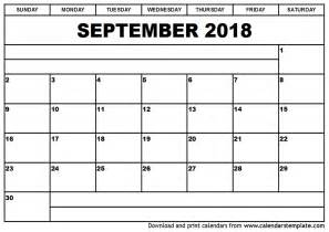September 2018 Calendar With Holidays September 2018 Calendar 2018 Calendar With Holidays