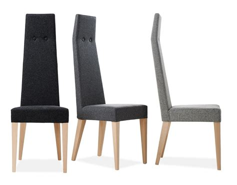 sedie schienale alto sedia imbottita con schienale alto idfdesign