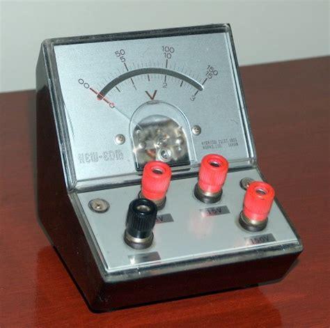 Voltmeter Ac Analog analog dc voltmeter