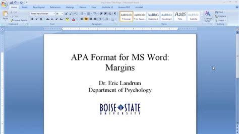 awesome collection of formatting apa style in microsoft word 2013 9