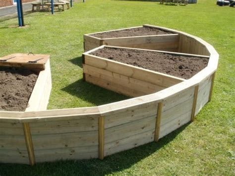 home raised beds curved bespoke raised bed 23 with curved beds landscaping pinterest