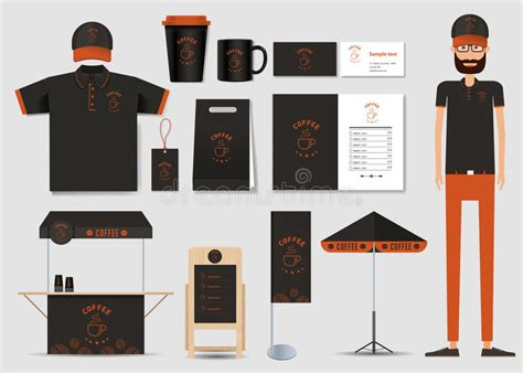 coffee shop branding design concept for coffee shop and restaurant identity mock up