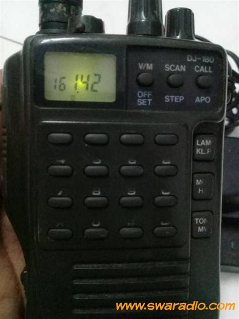 Baterai Ht Alinco Dj A10w10w100w500 Original dijual alinco dj180 vhf baterai awet standard pemakaian