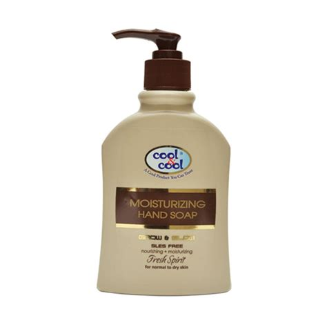 cool home products moisturizing hand soap fresh spirit 250ml price in pakist