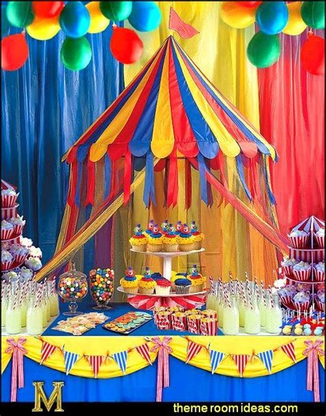 Circus Tent Decorations by 25 Best Ideas About Circus Theme Centerpieces On